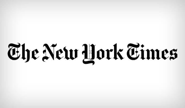 New Website - In the News - The New York Times