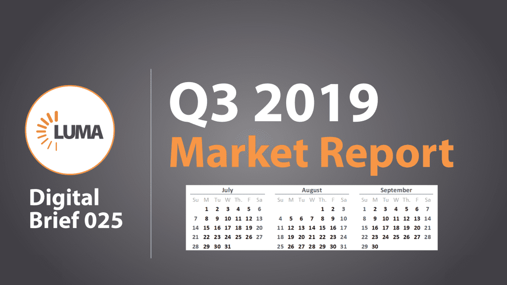 LUMA's Q3 2019 Market Report